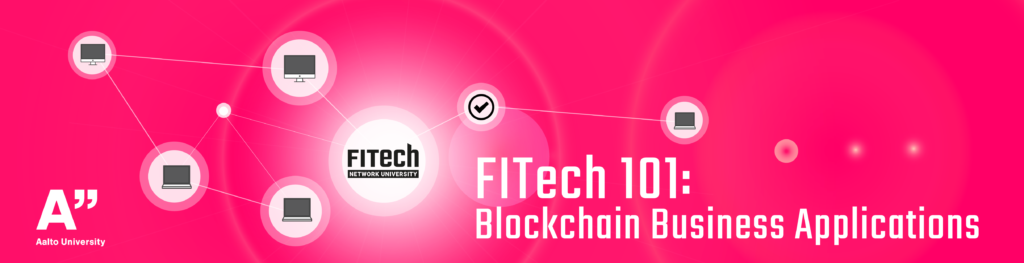 Blockchain Business Applications course banner
